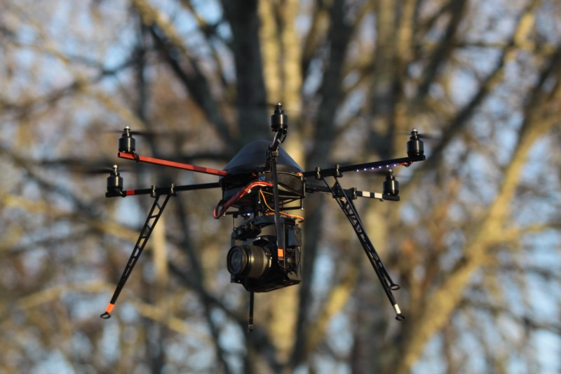 Drone multirotors pour photo et video aerienne